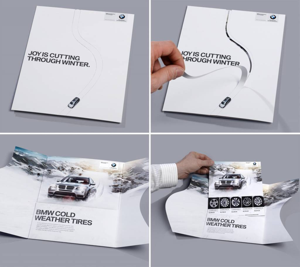 BMW unique Direct Mail Print