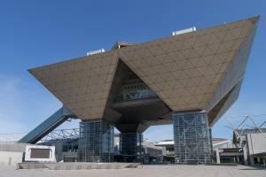 exterior of tokyo big sight