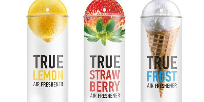 Creative Air Freshener Label