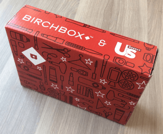 Cardboard Box Printed Design - Birchbox