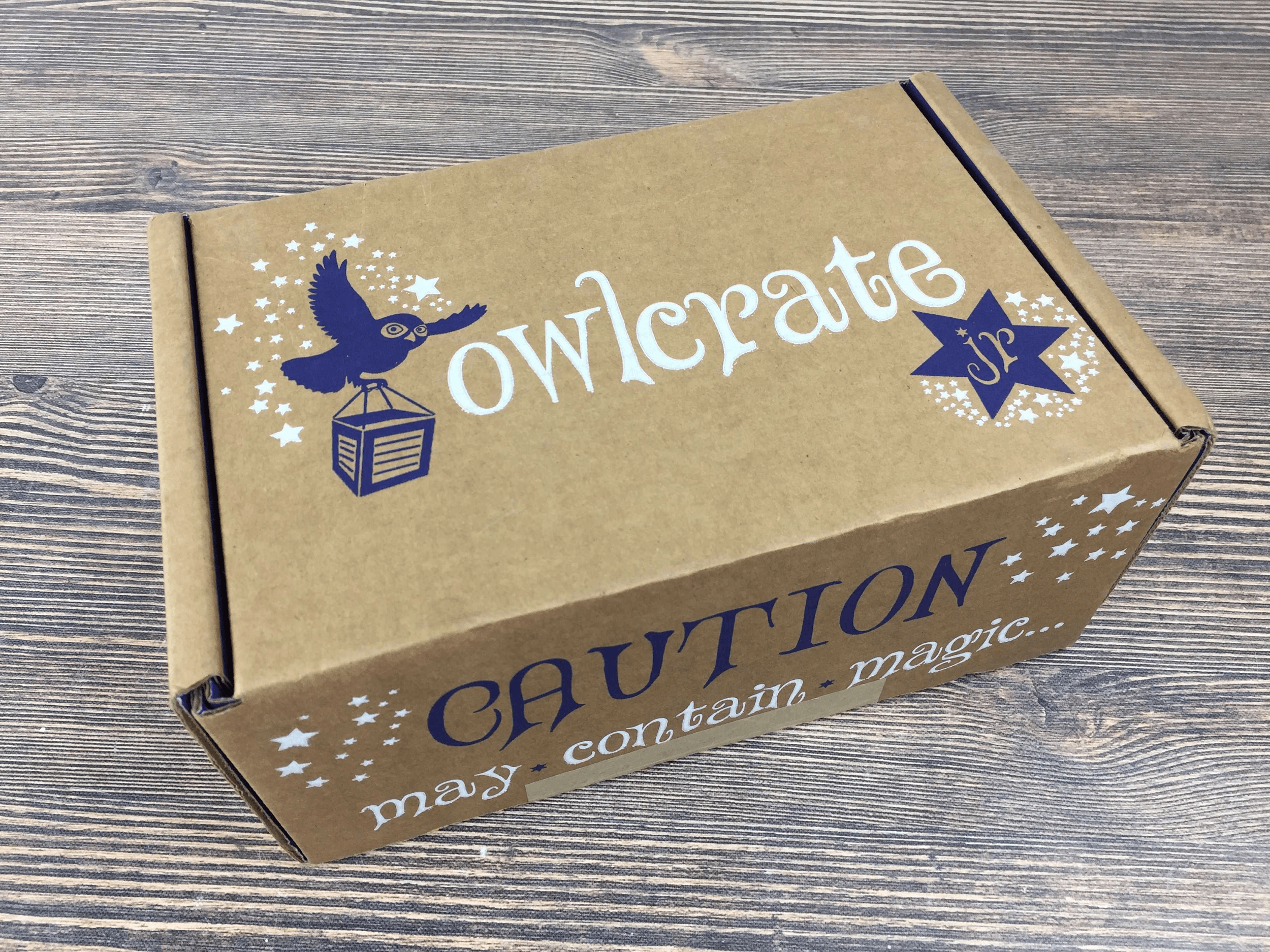 Cardboard Box Printed Design - Owlcrate