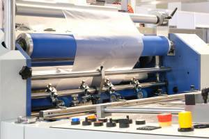 flexo printing system producing labels