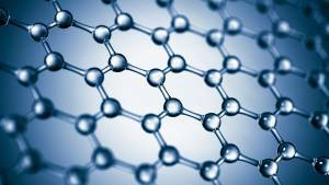 Graphene is an atomic scale hexagonal lattice made of carbon atoms.