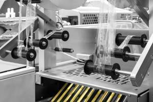 a labeling machine for pharmaceutical packaging