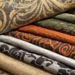 samples of velvet textiles fabrics