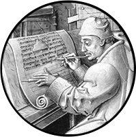 Photo of a scribe