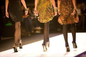 inkjet printed fabric of fashion designer dresses