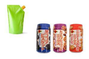 photo examples of flexible packaging printed with water based lunajet inkjet ink