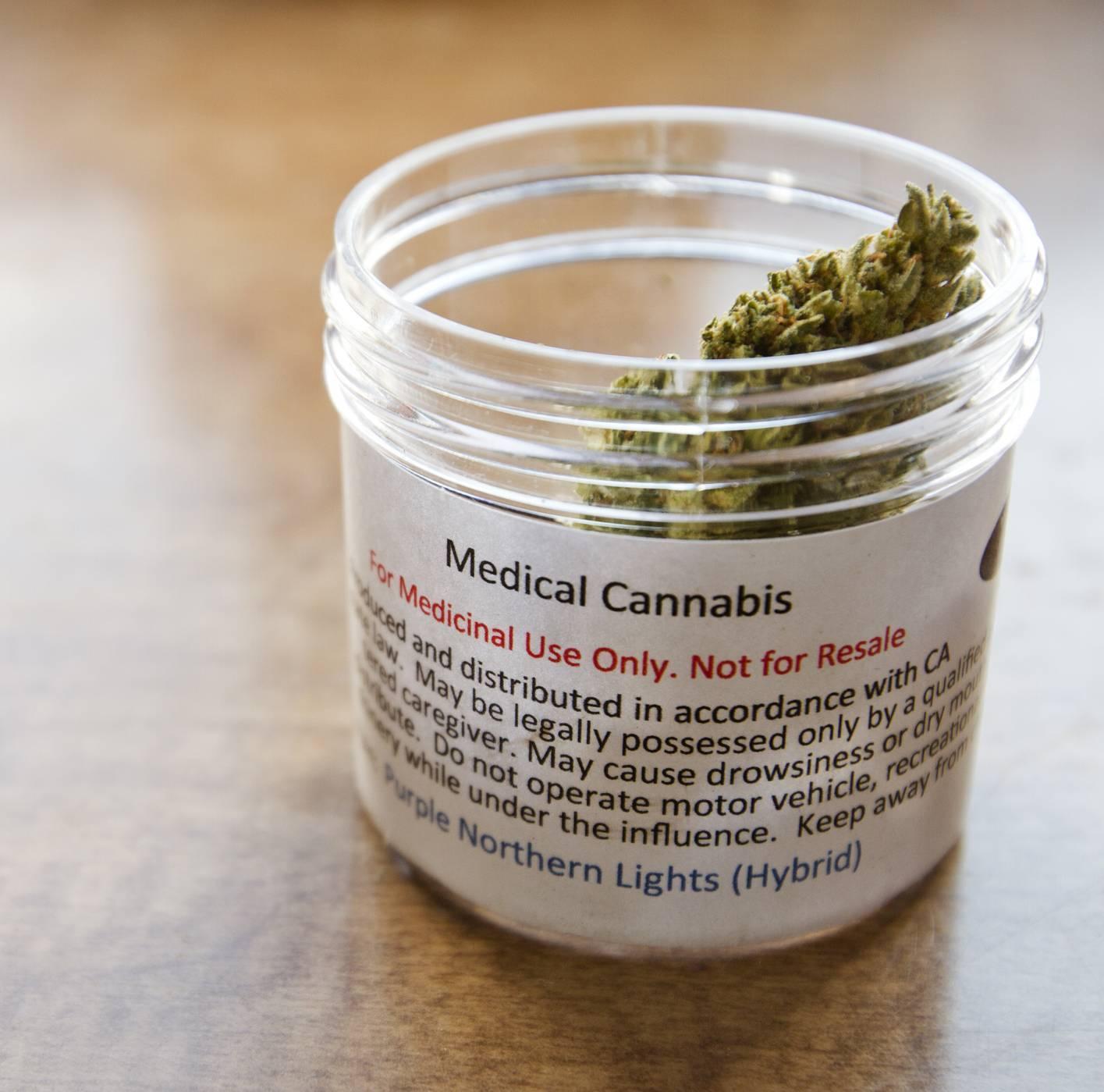 cannabis jar label